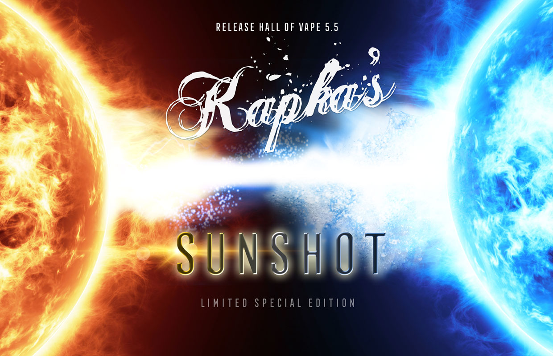 SUNSHOT - Kapka's Flava - Limited Edition - High Class E Liquid