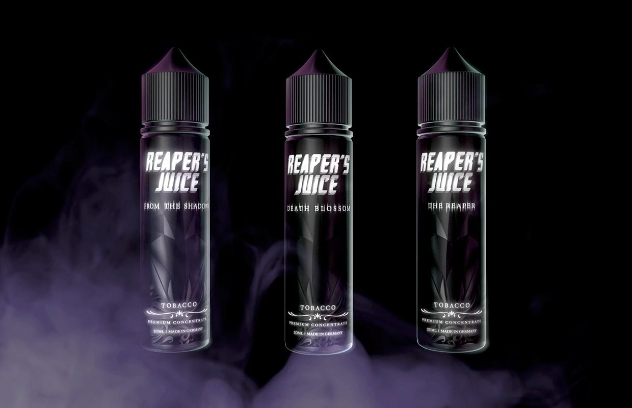 Kapka's Reaper's Juice Liquid - From The Shadows, Death Blossom, The Reaper