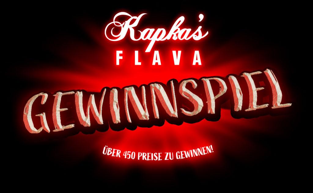 Jetzt beim Kapka's Flava Gewinnspiel mitmachen und fette Preise gewinnen!